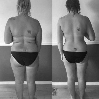 På 20 uger har Maria formået at tabe sig 18 kilo.